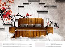 中式家具活动海报设计PSD源文件