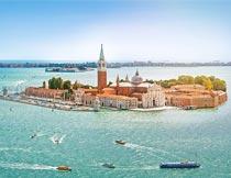美丽的威尼斯城市风光摄影图片
