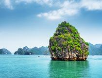 美丽的越南海岛自然风光摄影图片