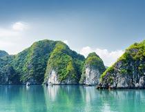 美丽的越南河内自然风光摄影图片