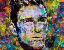 人像转油漆绘画艺术效果PS动作