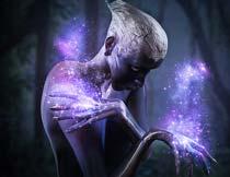 超酷的人像添加梦幻星光效果PS动作