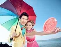 韩国海景系列婚纱模板D