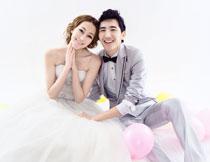 韩国海景系列婚纱模板G