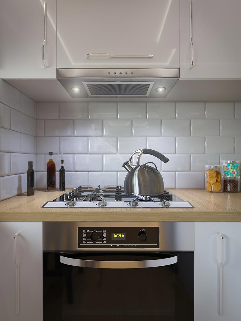 厨房间灶台煤气装修设计摄影图片-思缘v厨房素室内设计是怎么画图的图片