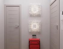 现代简约卧室门装修设计摄影图片