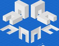 超酷的3D图形艺术效果PS动作