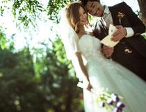 韩风外景系列婚纱模板C