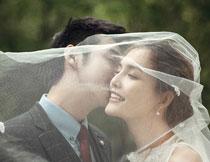 韩风外景系列婚纱模板D