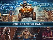 超酷的HDR手绘油画效果PS动作