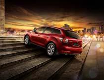 马自达CX7轿车海报设计PSD素材