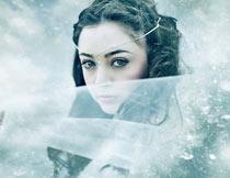 中文版照片添加下雨下雪和光线PS动作