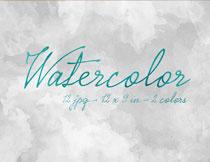 12张水彩元素纹理背景高清图片
