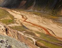 山脚下的自然景观风光摄影高清图片