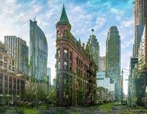 创意的城市末日特效PS动作