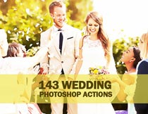 婚礼主题照片后期艺术效果PS动作