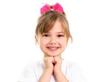 扮相可爱的小女孩人物摄影图片