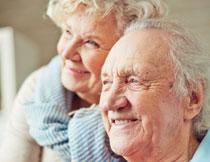 安享晚年生活的老人摄影高清图片