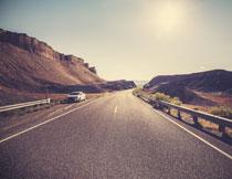 山野高速公路风景摄影高清图片