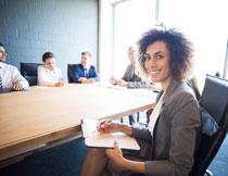会议室开会的人物摄影高清图片
