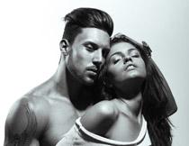激情情侣男女人物摄影高清图片