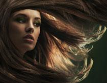 飘逸秀发美女人物摄影高清图片