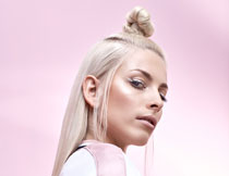 美发模特人物写真摄影高清图片