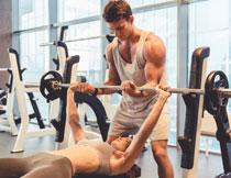 健身运动男女人物摄影高清图片