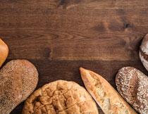 香甜可口面包食物摄影高清图片