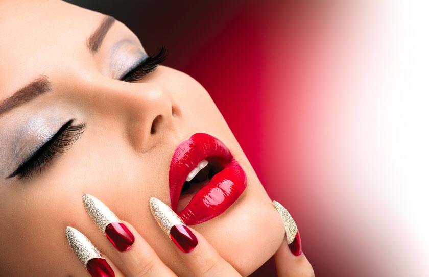 性感红唇美女人物摄影高清图片 - 思缘设计素材共享