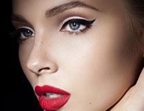 欧美浓妆美女人物摄影高清图片