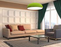 客厅沙发背景墙等渲染效果图片