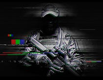 科技信号干扰GIF动画效果PS动作