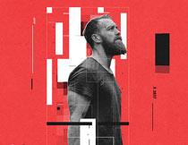现代科技时尚海报设计PS动作