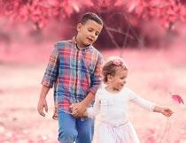 儿童照片后期甜美艺术效果PS动作