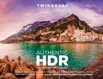 景观人像后期专业级HDR效果PS动作