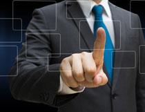 触控图形的手创意设计高清图片