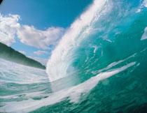波涛汹涌海浪风光摄影高清图片