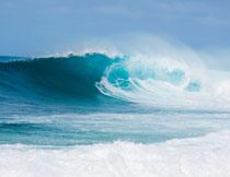 海上波浪自然风景摄影高清图片