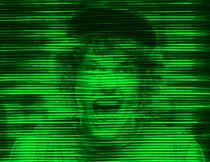 抽象的绿色波纹艺术效果PS动作