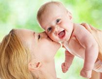 开心笑容宝宝写真摄影高清图片