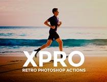 XPro系列复古暖黄效果PS中文动作