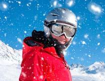 冬季下雪和风暴特效PS中文动作