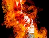 超酷的火焰燃烧效果PS中文动作