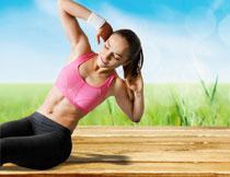 瑜伽美女人物写真摄影高清图片
