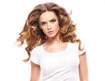 中分长发美女人物摄影高清图片