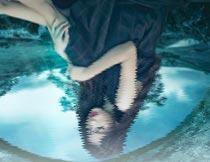 照片添加水面倒影特效PS动作