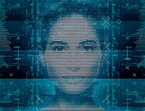 科技主题人工智能艺术效果PS动作