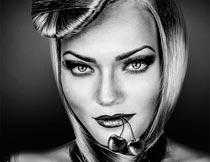 10款专业HDR黑白艺术效果PS动作