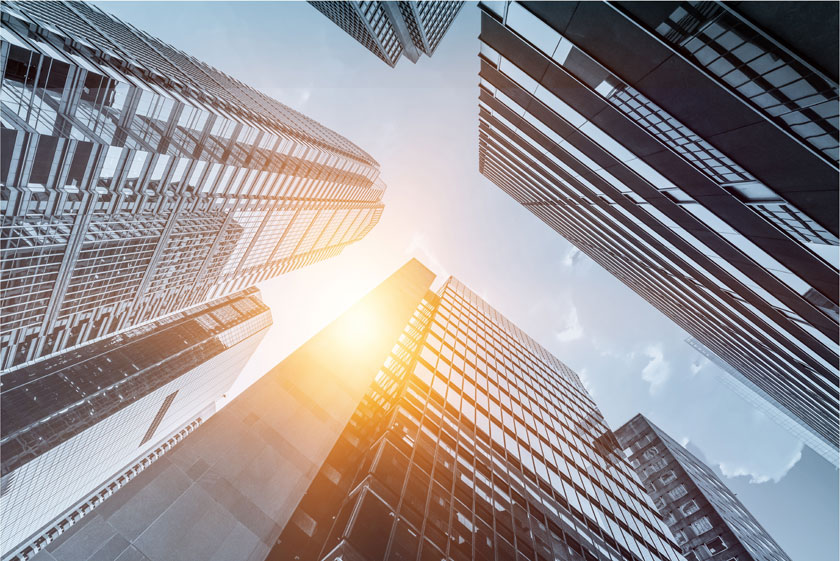 城市高楼大厦建筑摄影高清图片